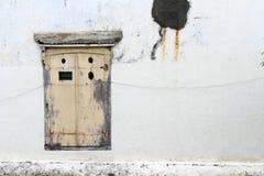 Οι πόρτες και τα παράθυρα γύρω από την παλαιά πόλη λάμα Kota, Σεμαράνγκ, IND Στοκ εικόνα με δικαίωμα ελεύθερης χρήσης