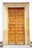Οι πόρτες της βασιλικής Senor de Monserrate Στοκ Φωτογραφίες