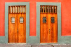 Οι πόρτες του San Juan Πουέρτο Ρίκο Στοκ φωτογραφία με δικαίωμα ελεύθερης χρήσης