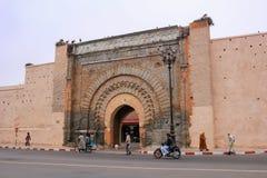 Οι πύλες του medina, μια είσοδος στην πόλη του Μαρακές, γ Στοκ Εικόνες