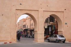 Οι πύλες του medina, μια είσοδος στο ιστορικό μέρος Στοκ εικόνες με δικαίωμα ελεύθερης χρήσης