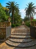 Οι πύλες των κήπων Alfabia στοκ εικόνες με δικαίωμα ελεύθερης χρήσης