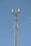 Οι πύργοι τηλεφωνικής μετάδοσης Στοκ Εικόνες