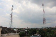 Οι πύργοι στοκ εικόνα