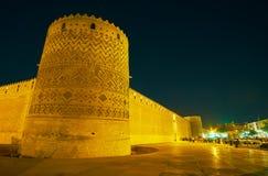 Οι πύργοι Arg Karim Khan, Shiraz, Ιράν Στοκ Εικόνα