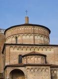 Οι πύργοι Battistero του θόλου, Πάδοβα, Ιταλία στοκ εικόνες