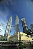 Οι πύργοι Petronas Στοκ Εικόνες