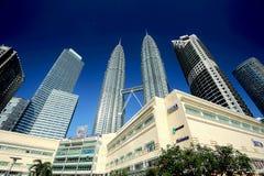 Οι πύργοι Petronas Στοκ εικόνες με δικαίωμα ελεύθερης χρήσης