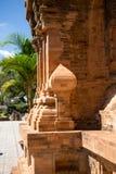 Οι πύργοι Po Nagar κοντά σε Nha Trang στο Βιετνάμ οι βουδιστικοί χτισμένοι cham πύργοι Βιετνάμ θέσεων πολιτισμού ήταν Στοκ φωτογραφία με δικαίωμα ελεύθερης χρήσης
