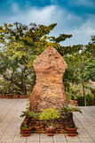 Οι πύργοι Po Nagar κοντά σε Nha Trang στο Βιετνάμ Στοκ εικόνες με δικαίωμα ελεύθερης χρήσης