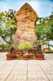 Οι πύργοι Po Nagar κοντά σε Nha Trang στο Βιετνάμ Στοκ Φωτογραφίες