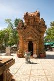οι πύργοι Po Nagar στο Βιετνάμ οι βουδιστικοί χτισμένοι cham πύργοι Βιετνάμ θέσεων πολιτισμού ήταν Στοκ Φωτογραφία