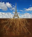 Οι ρίζες του πύργου του Άιφελ στοκ φωτογραφίες με δικαίωμα ελεύθερης χρήσης