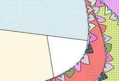 Οι σημαίες καρδιών διανυσματική απεικόνιση