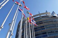 Οι σημαίες της ΕΕ δηλώνουν το σύμβολο της ένωσης 05 Στοκ φωτογραφία με δικαίωμα ελεύθερης χρήσης