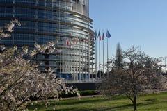 Οι σημαίες της ΕΕ δηλώνουν το σύμβολο της ένωσης 07 Στοκ Εικόνες