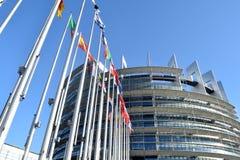 Οι σημαίες της ΕΕ δηλώνουν το σύμβολο της ένωσης 08 Στοκ φωτογραφία με δικαίωμα ελεύθερης χρήσης
