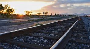 Οι σιδηρόδρομοι Στοκ Φωτογραφία