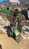 Οι σκοπευτές πυροβόλων όπλων απορριμάτων στοκ φωτογραφίες με δικαίωμα ελεύθερης χρήσης