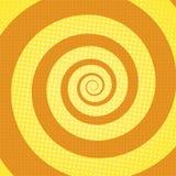 Οι σπειροειδείς ακτίνες σκάουν το αναδρομικό υπόβαθρο τέχνης απεικόνιση αποθεμάτων
