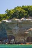 οι σπηλιές αψίδων λικνίζο& Στοκ Φωτογραφίες