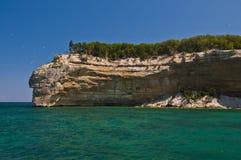 οι σπηλιές αψίδων λικνίζο& Στοκ Εικόνες