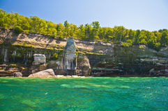 οι σπηλιές αψίδων λικνίζο& Στοκ φωτογραφίες με δικαίωμα ελεύθερης χρήσης