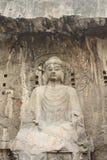 οι σπηλιές του Βούδα luoyang τ&omic Στοκ Φωτογραφία