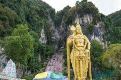 Οι σπηλιές Batu στην Κουάλα Λουμπούρ στοκ εικόνα με δικαίωμα ελεύθερης χρήσης