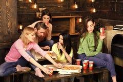 Οι σπουδαστές, φίλοι, σύντροφοι ομάδας με το δάσκαλο γιορτάζουν, έχουν τη διασκέδαση, σκοτεινό ξύλινο εσωτερικό υπόβαθρο Κόμμα πι στοκ φωτογραφία με δικαίωμα ελεύθερης χρήσης