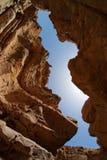 οι στενοί βράχοι ερήμων φα&r Στοκ φωτογραφία με δικαίωμα ελεύθερης χρήσης