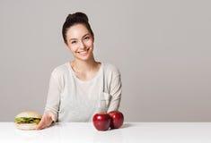 Οι συμβουλές διατροφής σας στοκ φωτογραφία