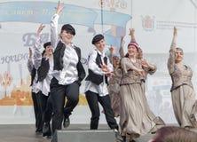 Οι συμμετέχοντες σφαιρών υπηκοοτήτων: Εβραϊκό σύνολο Στοκ Φωτογραφία