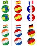 οι σφαίρες σημαιοστολί&ze Στοκ Εικόνες