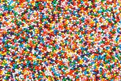 οι σφαίρες χρωμάτισαν πο&lambd Στοκ Εικόνα