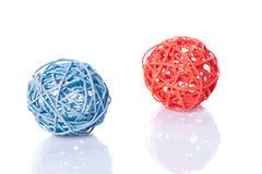 οι σφαίρες χρωματίζουν ratan Στοκ Εικόνα