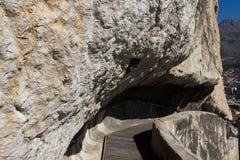 Οι τάφοι βράχου των του Πόντου βασιλιάδων Στοκ φωτογραφία με δικαίωμα ελεύθερης χρήσης
