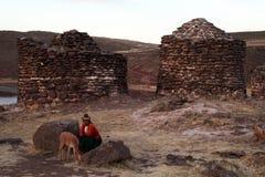 Οι τάφοι incas στοκ φωτογραφία με δικαίωμα ελεύθερης χρήσης