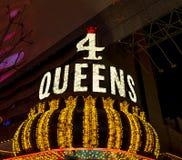 Οι τέσσερις βασίλισσες Hotel και Casino Στοκ φωτογραφία με δικαίωμα ελεύθερης χρήσης