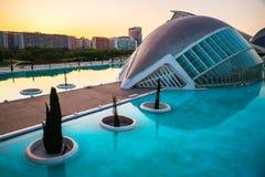 οι τέχνες μπορούν hemisferic λ les Palau reina πόλεων de επιστήμες να δουν τη Σόφια στοκ φωτογραφία