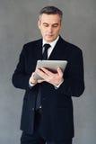 Οι τεχνολογίες καθιστούν την επιχείρηση επιτυχή στοκ εικόνα με δικαίωμα ελεύθερης χρήσης