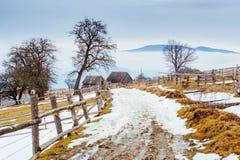 Οι τελευταίες ημέρες του χειμώνα στα βουνά της Ουκρανίας Στοκ εικόνες με δικαίωμα ελεύθερης χρήσης
