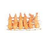 Οι τηγανισμένες γαρίδες τηγάνισαν την ιαπωνική κουζίνα Στοκ εικόνες με δικαίωμα ελεύθερης χρήσης