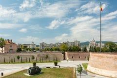 Οι τοίχοι οχυρώσεων του άσπρου φρουρίου της Καρολίνας Στοκ Εικόνες