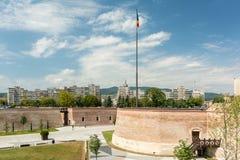 Οι τοίχοι οχυρώσεων του άσπρου φρουρίου της Καρολίνας Στοκ Φωτογραφίες