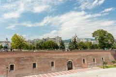 Οι τοίχοι οχυρώσεων του άσπρου φρουρίου της Καρολίνας Στοκ εικόνες με δικαίωμα ελεύθερης χρήσης