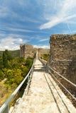 Οι τοίχοι Ston στη θερινή ημέρα, Κροατία, Στοκ εικόνες με δικαίωμα ελεύθερης χρήσης