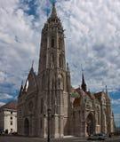 Οι τουρίστες επισκέπτονται το ιστορικό ST Matthias Church Στοκ φωτογραφίες με δικαίωμα ελεύθερης χρήσης