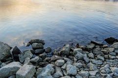 Οι τράπεζες του Δούναβη Στοκ φωτογραφίες με δικαίωμα ελεύθερης χρήσης