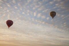 Οι τράπεζες των σύννεφων στον ουρανό Στοκ Εικόνα